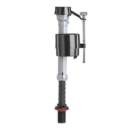 Fluidmaster 400A Anti-Siphon Universal Toilet Tank Fill Valve,Black