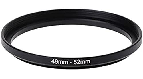 Step Up 49-52 mm anillo adaptador 49 mm 52 mm adaptador anillo 49 mm 52 mm 49-52 49 52 mm lente lente compatible con Nikon Canon Fujifilm Sony Olympus Panasonic Sigma Tamron Tokina