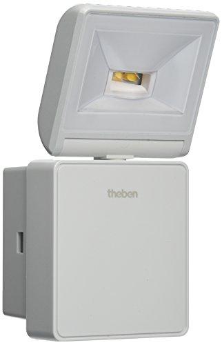 Theben 1020751 Luxa 102 FL LED 8W W Strahler für Wandmontage, 3000 K, weiß
