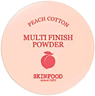 [New] SKINFOOD Peach Cotton Multi Finish Powder/スキンフード ピーチ コットン マルチ フィニッシュ パウダー (#小容量:5g) [並行輸入品]