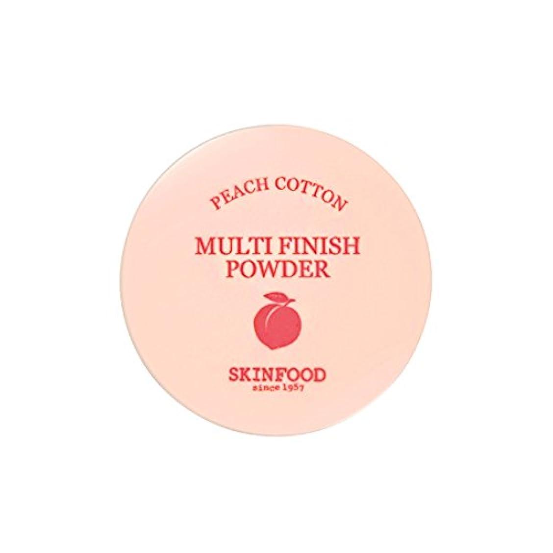 問い合わせレジ毒液[New] SKINFOOD Peach Cotton Multi Finish Powder/スキンフード ピーチ コットン マルチ フィニッシュ パウダー (#小容量:5g) [並行輸入品]