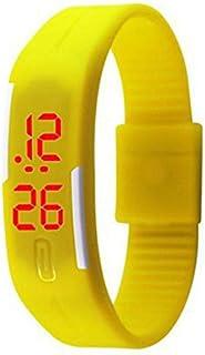 Digital LED Dial Silicone Sport Watch For Unisex Digital Silicone - SB-018YE