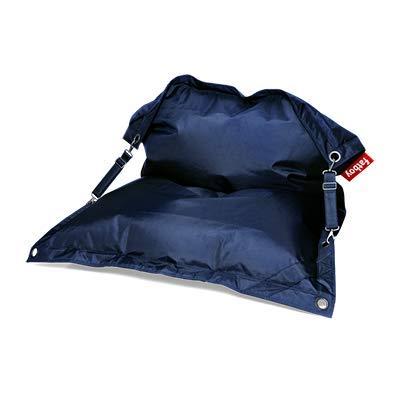 Fatboy® Buggle-Up blau | Polyester-Sitzsack für draußen | Loungesessel im Outdoor-Bereich | 185 x 137 cm