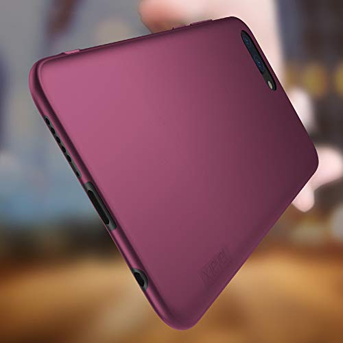 X-level für Honor 10 Hülle, [Guardian Serie] Soft Flex Silikon Premium TPU Echtes Telefongefühl Handyhülle Schutzhülle Kompatibel mit Honor 10 Case Cover - Weinrot - 3