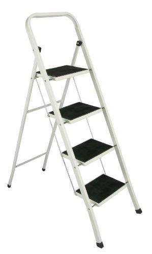 Stahl Haushaltsleiter, Klapptritt, Klappleiter mit 4 Stufen