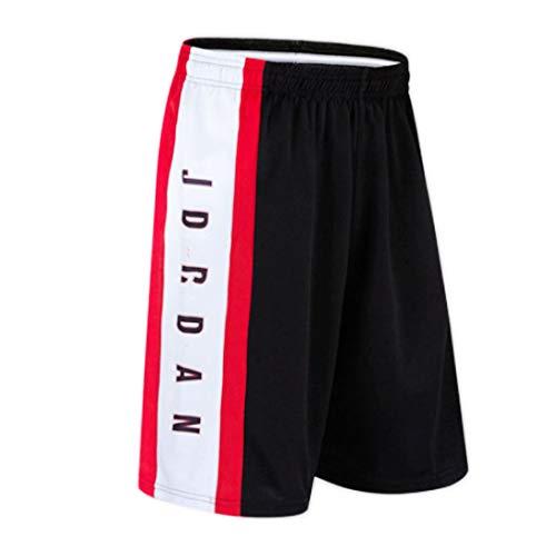 WX Herren Basketball Shorts Schnelltrocknende Hosen Große lose Shorts Fußball Shorts Laufen Fitness Shorts