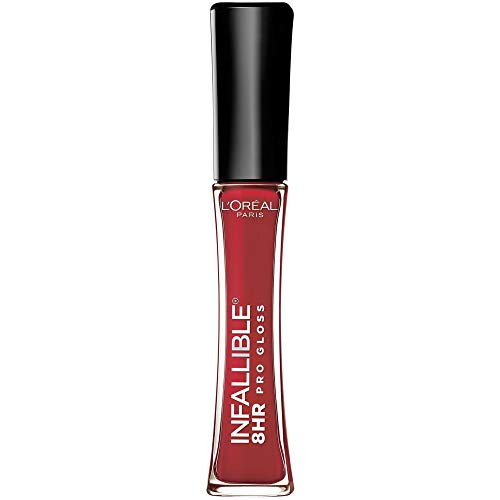 L'oreal gloss infallible tenue 6 heures 315 rebel red