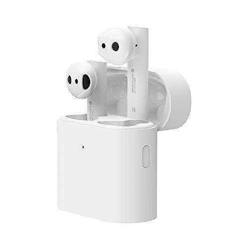 Mi True Wireless Earbuds Air 2, Auricolare In-Ear Smart Wireless Bluetooth 5.0 Cuffie stereo Auricolari TWS con custodia di ricarica wireless per lavoro Corsa Corsa palestra