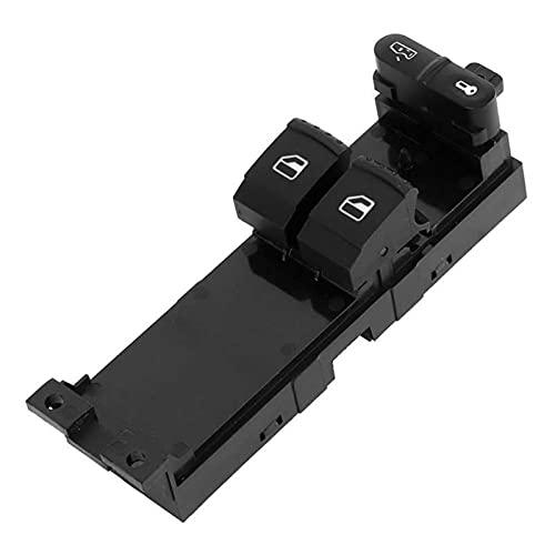 KUANGQIANWEI Interruptor de la Ventana del automóvil Controlador eléctrico 1J3959857A Ajuste para Skoda Fabia Fit para Octavia Interruptor de Ventana de Coche Ajuste para Skoda Car Accesoreis