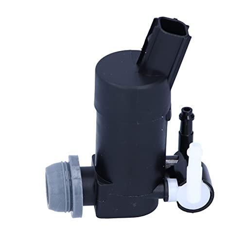 Akozon Motor de bomba de lavaparabrisas de 2 salidas Bomba del lavaparabrisas OE: 1S7117K624FD, 1S7117K624FE, 1231600, 1355124, 1355124 Reemplazo para C-Max Focus Mondeo Galaxy Kuga S-Max