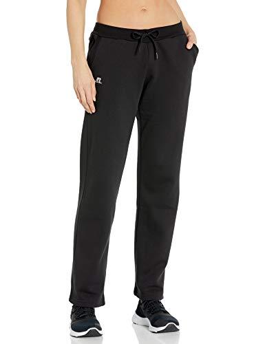 Russell Athletic Women's Fleece Pant, Black, L