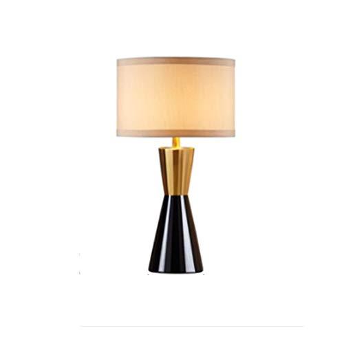 Lfixhssf creatieve Europese bureaulamp Simple Warm Luxe Postmoderne tafellamp voor woonkamer slaapkamer nachtkastje Lfixhssf (kleur: beige)