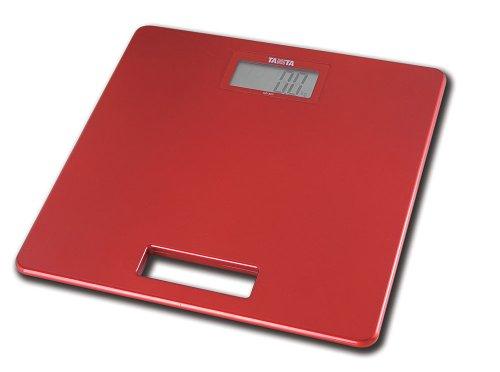 Tanita HD357RD Super Slim Personenwaage, Rot