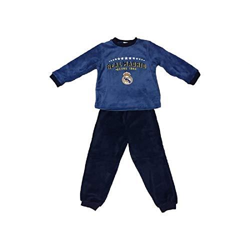Pijama Coralina Invierno Niño Real Madrid Estrellas