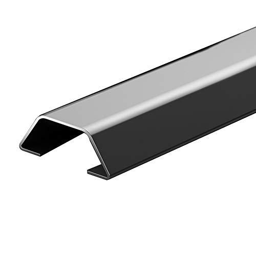 Hardware Accessories Kabelkanal, Edelstahl-Bodendraht Verbirgt Den Deckel, Dickes Und Haltbares Rost 1m Metallkabel Organizer, Geeignet FüR Schlafzimmer Wohnzimmer