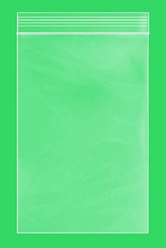 CLEAR PLASTIC REUSABLE ZIPLOCK BAGS - Bulk GPI Case Of 1000 4