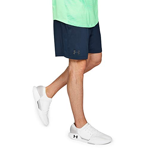 Under Armour MK1 Shorts, Pantaloncini Uomo, Blu (Academy/Stealth Gray 408), L