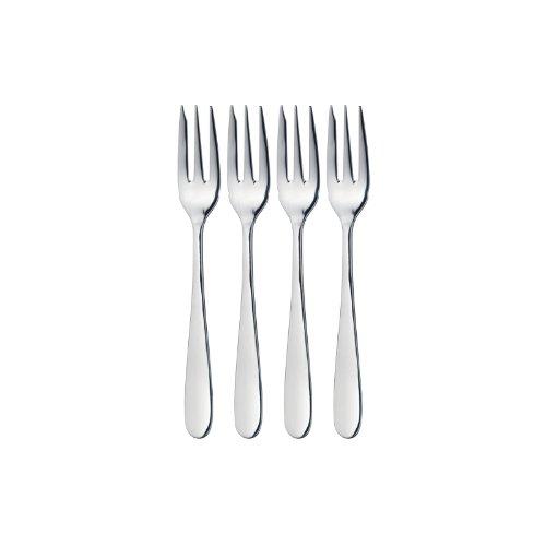 Kitchen Craft Master Class - Juego de 4 tenedores de postre