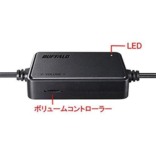 BUFFALO(バッファロー)BSSP108UBKPC用スピーカーUSB電源コンパクトサイズブラック