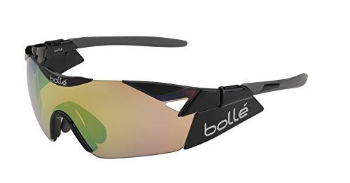 bollé 6Th Sense S Gafas, Unisex Adulto, Negro (Shiny)