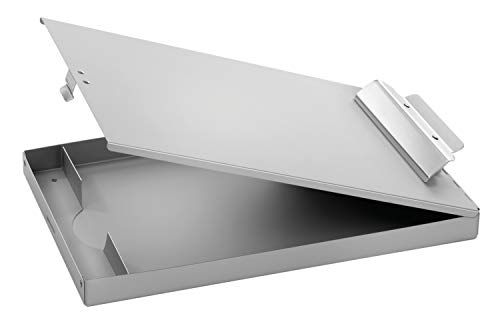 Adams Forms Holder, Top Hinge, 8.5 x 12 Inches, Aluminum (AFH31)