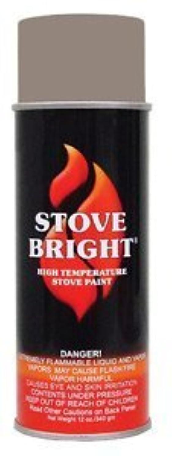 Stove Bright TI-8117 High Temperature Paint, 1200 Degree F Operating Temperature Range, 12 oz Aerosol, Almond