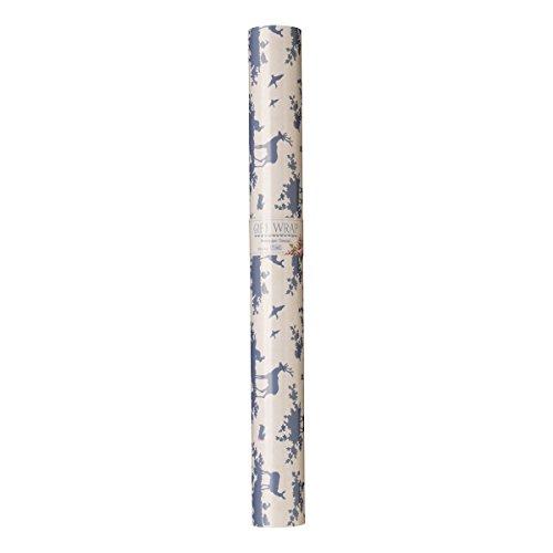Tilda Autumn Tree Geschenkpapier, Papier, Mehrfarbig, 10m x 57cm