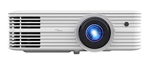 Additional $300 off at check out! Optoma UHD52ALV True 4K UHD Smart Projector | Super Bright 3500 Lumens | HDR10 + HLG Support | Works with Alexa and Google Assistant | Voice Command | Support IFTTT, White