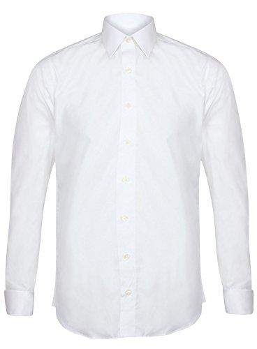 INVICTUS -  Camicia Classiche - Uomo Bianco White