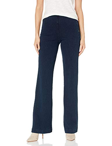 Lyssé Women's Denim Trouser, Indigo, L