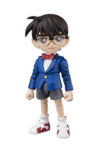 Bandai Conan EDOGAWA Actionfigur 10cm mit viel Zubehör Detective Conan SHF Figuarts