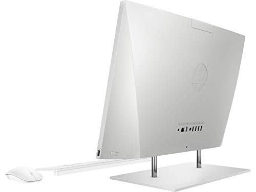 HP AIO Core i3 10th Gen 23.8-inch FHD with Alexa (8GB/512 GB SSD/Windows 10/ MS Office 2019/Natural Silver /5.85kg) 24-dp0816in