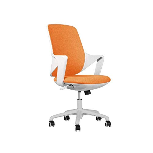 N/Z Daily Equipment Chairs Office Computer Desk Gaming Ergonomic Mid Back Cushion Lumbar Support with Wheels Comfortable Mesh Racing Seat Adjustable Swivel Rolling Home Executive S (Color : A)