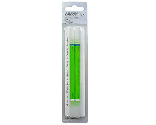 Lamy ink-x - Juego de 2 borradores de tinta, color verde