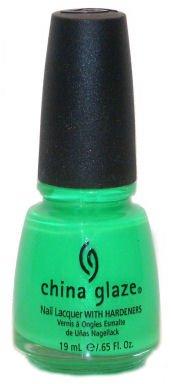 China Glaze Vernis Néon dans le vert citron clair vernis à ongles 14 ml