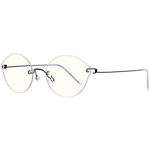 FONEX Anti Blue Glasses with Nylon Lens Ab011 (Black)
