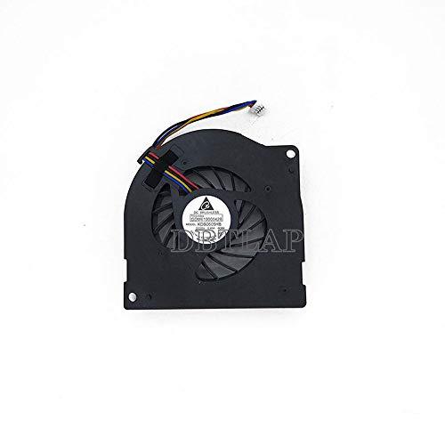 DBTLAP Ventilador de la CPU del Ordenador portátil para Toshiba Tecra A11 M10 Satellite L21 GDM610000428 KDB0605HB-9G64 UDQFC65E5DT0 GDM610000392