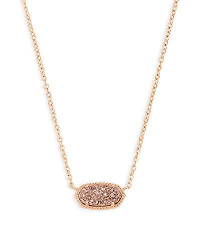 Kendra Scott Elisa Pendant Necklace for Women, Fashion Jewelry, 14k Rose...