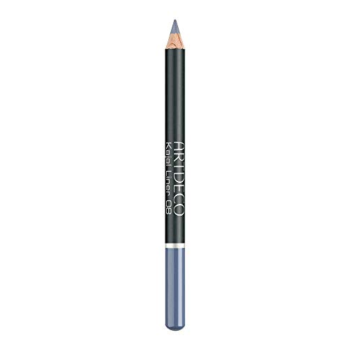 ARTDECO Soft Kajal Liner, Kajalstift, Nr. 08, graublau, 1er Pack (1 x 1 Stück)