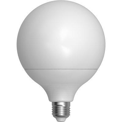 LAMPADA LED 24W = 150WATT E27 2200 LUMEN BIANCO CALDO 3000°K SFERA OPACA GLOBO [Classe di efficienza energetica A+]