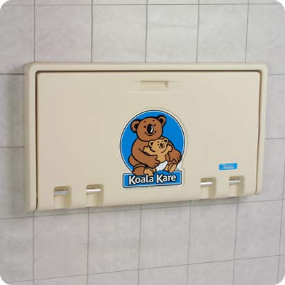 Koala Kare KB100-00 Horizontal Baby Changing Station