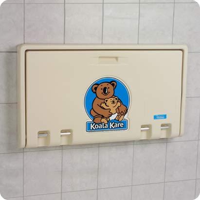 Koala Kare KB100-00 Horizontal Baby Changing Station