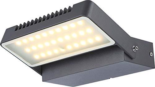 Globo Chana Lampe d'extérieur 30 LED Gris