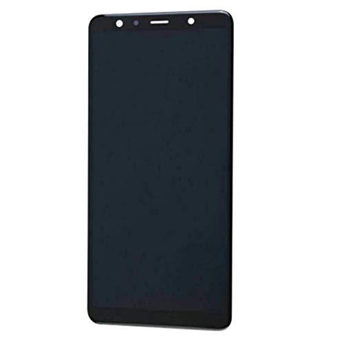 Almencla Tela LCD sensível ao toque Peça de reposição para Samsung A7 A750 (2018)