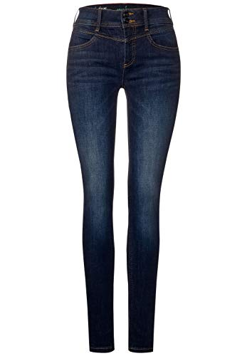 Street One Damen A373456 Jeans, Indigo Stone wash, W30/L30
