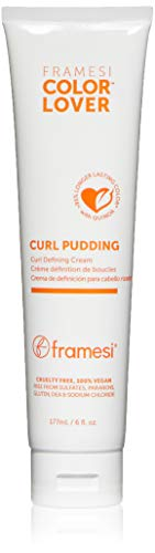 Framesi Color Lover Curl Pudding Styling Cream, 6 fl oz, Color Treated Hair