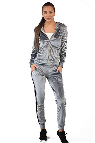 Dames Velvet Loungewear Trainingspak 2 Stuk Set