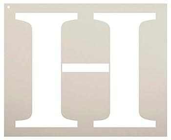 Best letter h stencil Reviews