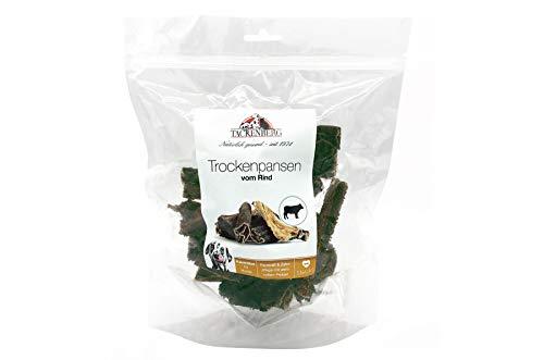 TACKENBERG Kauartikel für Hunde, 100% Trockenpansen vom Rind, Kauspaß ohne Zusatzstoffe