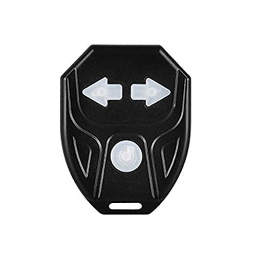 N\C Señal De Giro De Bicicleta LED a Prueba De Agua Control Remoto, Indicador De Dirección De Bicicleta De Montaña, Carga USB, Luz Trasera con Bocina